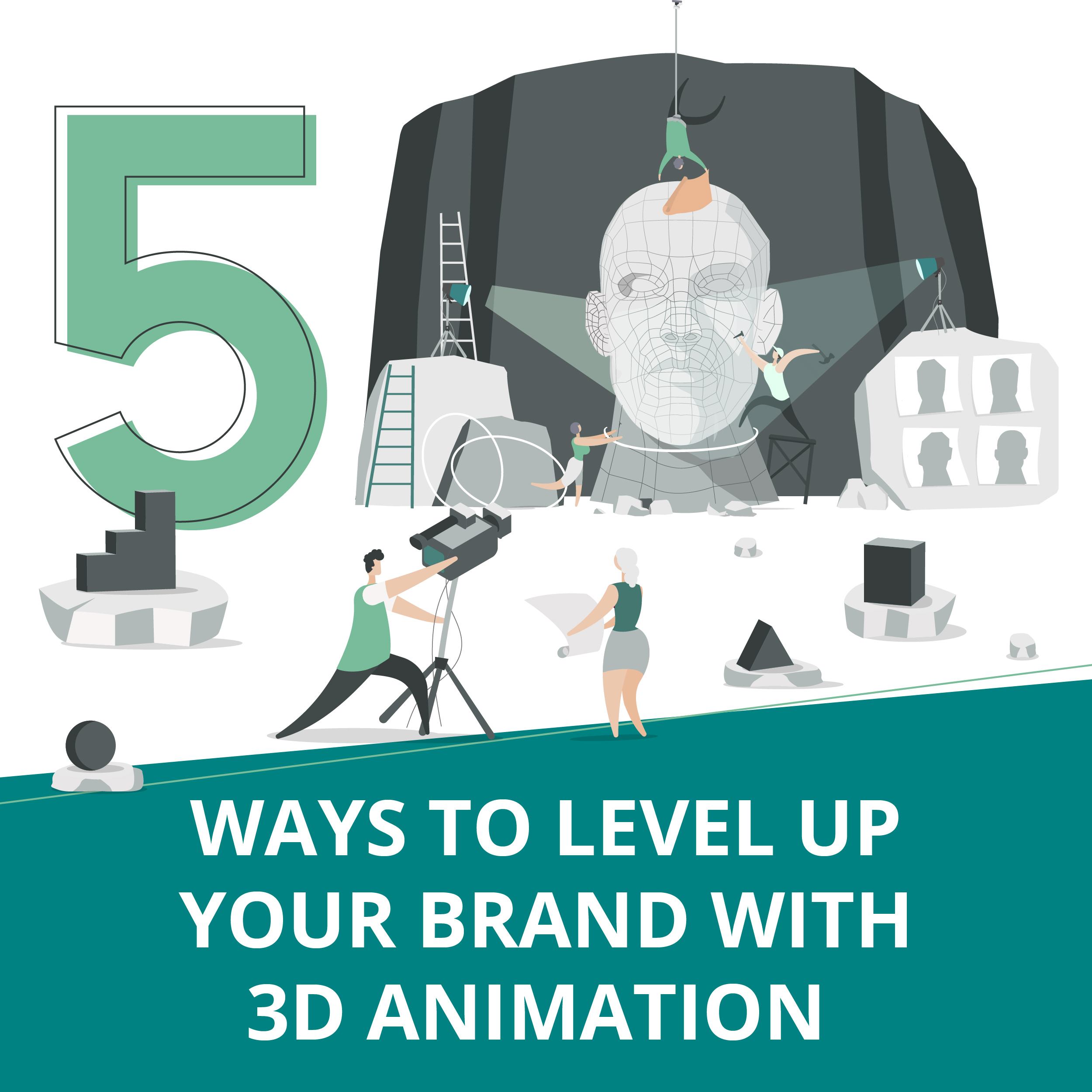 Ways To Level UpYour Branding With 3D Animation